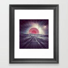 Warp Speed Framed Art Print