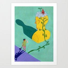 Jack & The Beanstalk Ⅴ Art Print