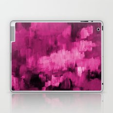 Paint 4 abstract minimal modern art painting canvas affordable art passion pink urban decor Laptop & iPad Skin