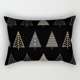 MODERN CHRISTMAS TREES 2 Rectangular Pillow