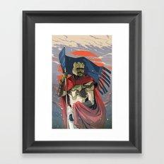 Little Big Man Framed Art Print