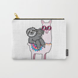Sloth Music Llama Carry-All Pouch