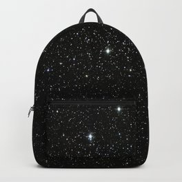 Universe Space Stars Planets Galaxy Black and White Backpack