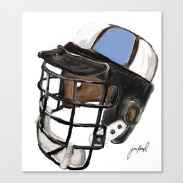 Homewood Helmet Canvas Print