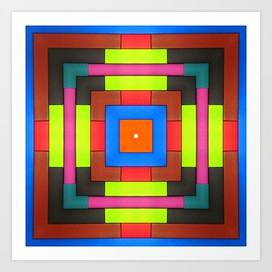 A Framed Frame of a Frame Art Print