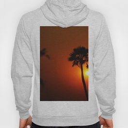 The Red Tropical Sunset (Color) Hoody