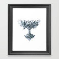 The Tree of Many Things Framed Art Print