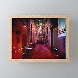Enlightened Patio Framed Mini Art Print