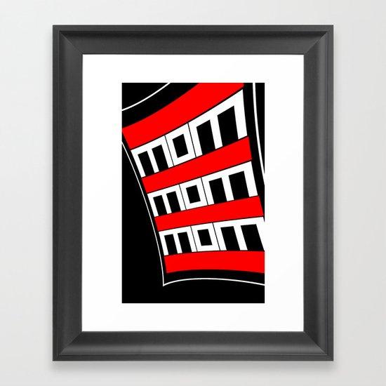 MoM2 Framed Art Print