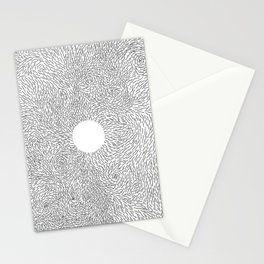 turbulence: zen Stationery Cards