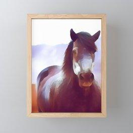 World-wild Cool Animal Portrait Art Print Framed Mini Art Print
