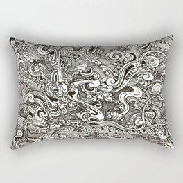 Tangling lines Rectangular Pillow