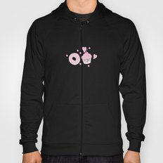 Pink Cupcakes and Donuts - White Hoody