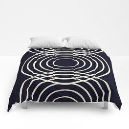 Life Balance Black Comforters