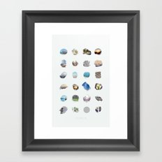 23 - Enjoy Life  Framed Art Print