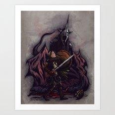 I Am No Man - An Ode to Éowyn Art Print