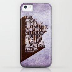ANSWERS iPhone 5c Slim Case