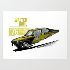 Walter Rohl - 1976 Sweden Art Print