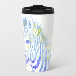 Quiet Zebra Travel Mug