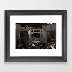 When it goes up... Must come down Framed Art Print