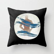 Wave of Mutilation Throw Pillow