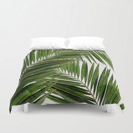 Palm Leaf III Duvet Cover