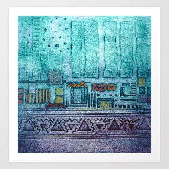 Memories of Egypt Art Print