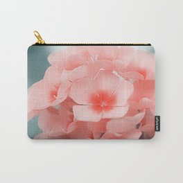 Pink Blossom Carry-All Pouch