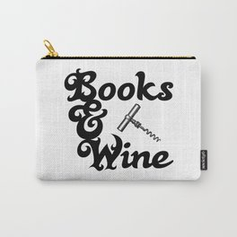 Books & Wine Carry-All Pouch