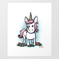 KiniArt Unicorn Art Print