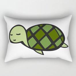 Peaceful Turtle Rectangular Pillow