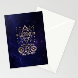Alchemy Sacred Geometry Ornament Stationery Cards