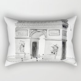 Arc de Triomphe Rectangular Pillow