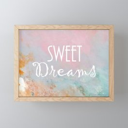 Sweet Dreams Framed Mini Art Print