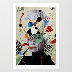 anti pop andy Art Print