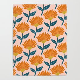 Floral_pattern Poster