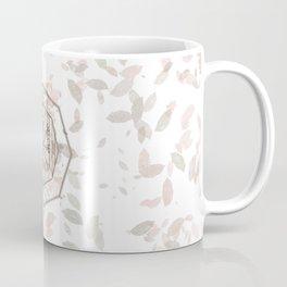 Icelandic Magical Stave - Vegvisir - Fall Travels  Coffee Mug