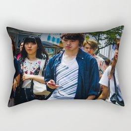 Takeshita Street Rectangular Pillow