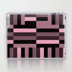 pink and black blocks Laptop & iPad Skin