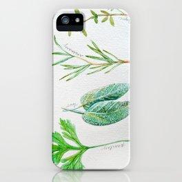Scarborough Fare iPhone Case