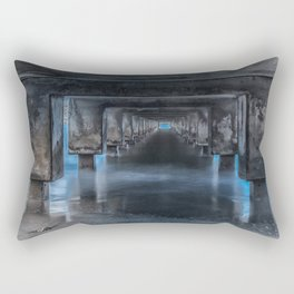 Under the Pier at Hanalei Rectangular Pillow