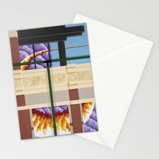 Old Town Sun Cloud Stationery Cards