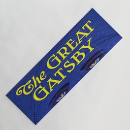 The Great Gatsby vintage book cover - Fitzgerald Yoga Mat