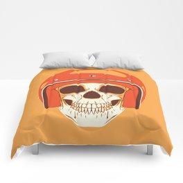 Helmet Skull Comforters