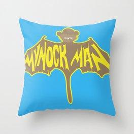 Mynock Man Throw Pillow