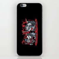 Where the Slashers Are (Grayscale) iPhone & iPod Skin