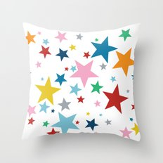 Stars Small Throw Pillow