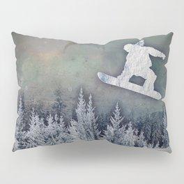 The Snowboarder Pillow Sham