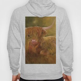 Highland Cow, Scotland Cow, Cute Highland Cow, Scotland Highlands Cow, Ferdinand, Cute Cow, Hairy Co Hoody
