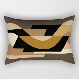 SUISSE - Art Deco Modern: CAFE JAVA Rectangular Pillow